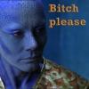 rike_tikki_tavi: Zhaan doing bitch please face (Farscape bitch please)