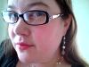 misskat: Picture of Kat with black plastic frames (Kat Pic)