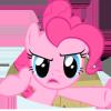 misskat: Pinkie Pie looking all WTF-y (Pinkie Pie WTF)