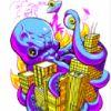 phnelt: octopus destroys metropolis (octopus)