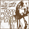 phnelt: the world isn't split into good people and death eaters (HP death eaters)