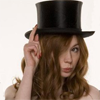 zulu: Karen Gillam from Dr. Who, wearing a saucy top hat (buffy - hallelujah)