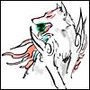 opusculus: Okami's Amaterasu (Wolfish glee)