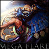 boss_battle: Image of Bahamut's fayth from FF10 with the text Mega Flare (Mega Flare ff10)