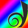 "onyxlynx: Dreamwidth ""D"" logo on rainbow/spectrum background. (Rainbow Dreamwidth logo)"