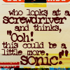 sonickey: (sonic quote)