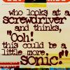 sonickey: (sonic quote)
