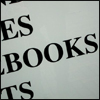 scribblesinink: Letters spelling the word Books (neutral books)