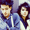 aikea_guinea: (The Cure - Robert & Simon 82)