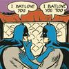 moetushie: Batmen in batlove. (batlove)