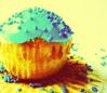 thorarosebird: Blue cupcake (Default)