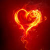 curiosity: Flames in the shape of a heart's outline. (Picto: Fireheart)
