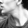 lilian_cho: Close-up of Merlin's neck in black and white (Merlin neck bw)