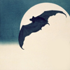theresistance: Art of a bat flying against the full moon (Vigilante - Aspirations)