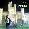 amilyn: Sarah Jane running from an explosion in front of Cardiff Castle (run)