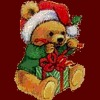 nakeisha: (Christmas (Teddy))