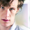 zander: Photo of the 11th Doctor, glaring (Doctor Who: 11th Doctor: Glare)