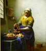 """colorwheel: vermeer's painting """"milkmaid"""" (milkmaid)"""