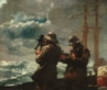 "colorwheel: winslow homer's painting ""eight bells"" (eight bells)"