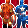 supertights: Image of Iron Man and Captain America standing side by side. (Iron Man, Cap)