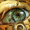 supertights: Image of a eye with working parts visible (Steampunk eye)