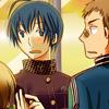 hostilecrayon: Daisuke and Kou being adorable. (Daisuke/Kou)