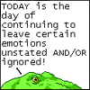 chatananas: i leave uncertain emotions unstated (UNCERTAINTY: dinosaur emotions)