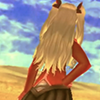 mouflon: (Her butt is lewdly raised)
