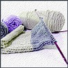 annotated_em: Photo: yarn, knitting needle, and knitting. (knitting - hesadevil)