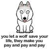 syzygy_dw: (You let a Wolf Save Your Life...)
