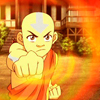 starlady: Aang with fire (aang can be asian & still save the world)