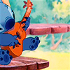 chibimuse: Stitch playing a ukulele (ukulele)