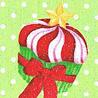 chibimuse: a christmas themed cupcake (cupcake, holidays)