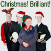 mific: from a manip by shekillscacti (tumblr) (Cabin Pressure Xmas)