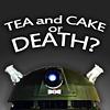 adafrog: Dalek tea and cake (Dalek tea and cake)