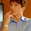 contrarywise: John Barrowman on Hotel Babylon, pondering. (Ponders)