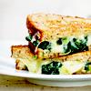 noxy: (spinach panini)