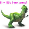 losingit: (tiny little t-rex arms)