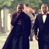 lucifuge5: (Two Badasses - Omar and Brother Mouzone)