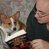 archmage: (Lucy & I reading)