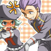 petrel: Lambda harassing Lance's butt. As usual. (Pkmn // LambdaLance . Teehee ;D)