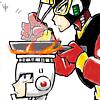 petrel: Elecman cooking on FireMan's head. O LAWDS. (MM // ElecFire . COOKIN MAMA)