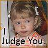 cereta: My daughter Judges You (Frog Judges You)