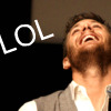 lilyleia78: Jensen Ackles with head thrown back laughing captioned LOL (Supernatural: Jensen lol)