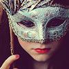 acuarela: (máscara.)