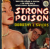 "nineveh_uk: Cover illustration for ""Strong Poison"" in pulp fiction style with vampish Harriet. (Strong Poison)"