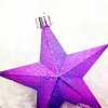 mellificent: (Xmas - purple star)
