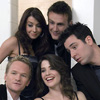 jlh: Ted, Robin, Barney, Lily and Marshall from HIMYM (himym cast)