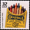 jlh: Crayola postage stamp (crayola stamp)