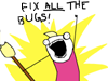 karzilla: FIX ALL THE BUGS! (fixall)